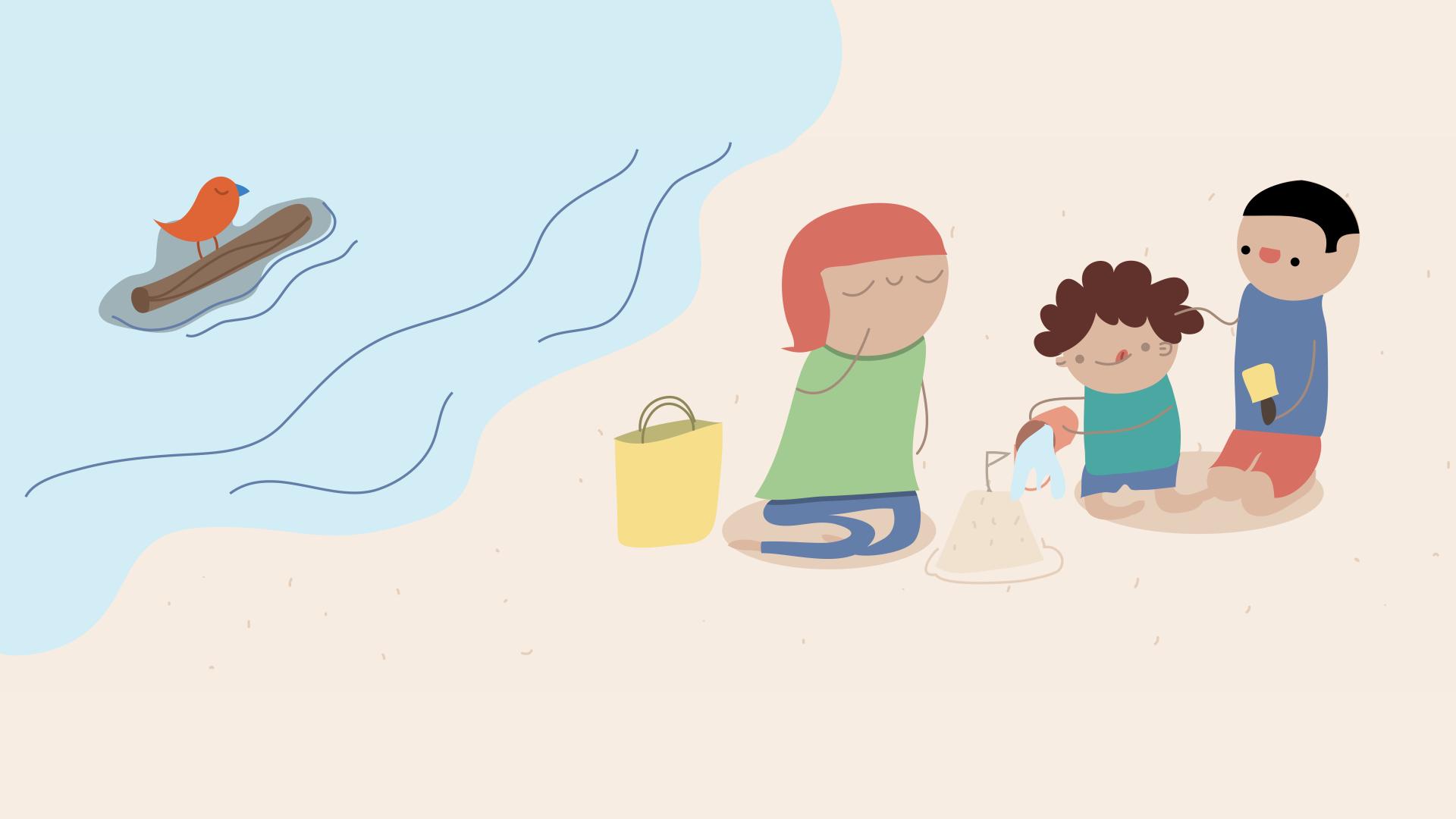 Onde passar as férias escolares?