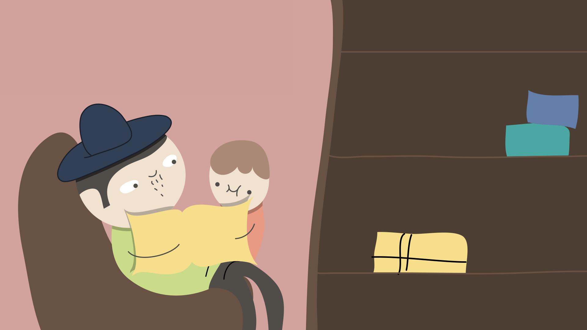 """""""Um ambiente de histórias"""": o valor das narrativas na vida das crianças"""