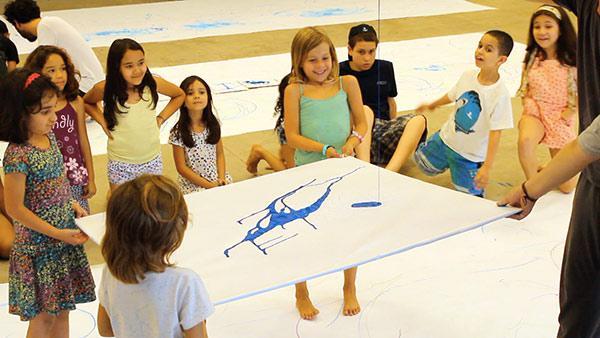 """""""Segni mossi"""": interação entre movimentos corporais e grafismos"""