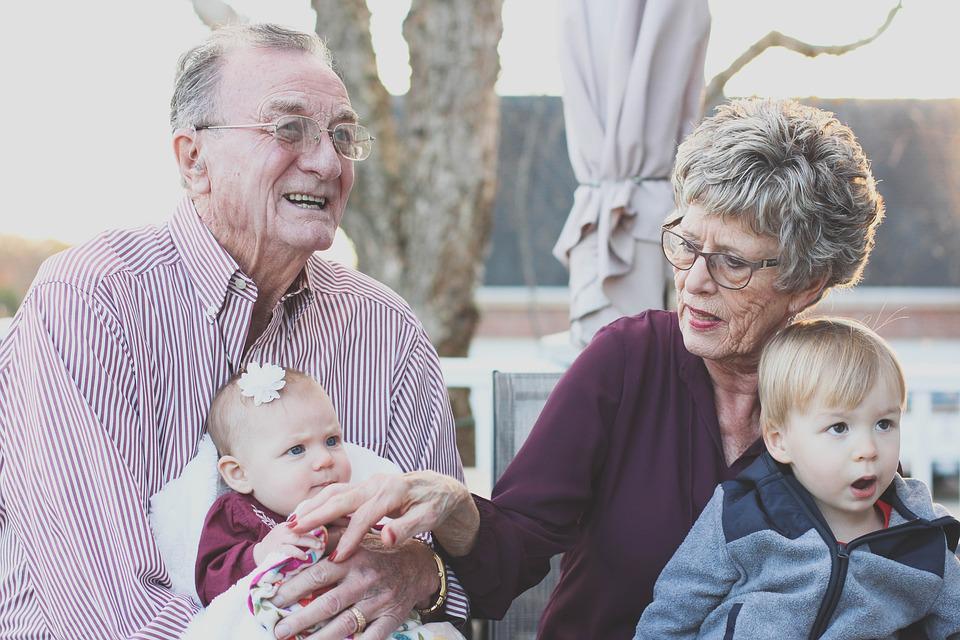 Sobre avós, pais… e as crianças