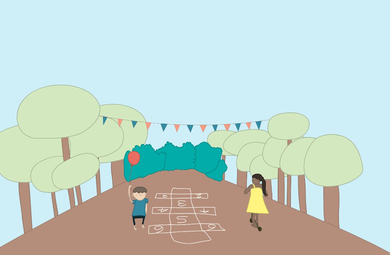 Ruas fechadas: espaços para brincar