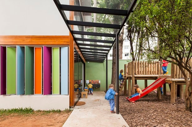 Arquitetura que conversa com a escola