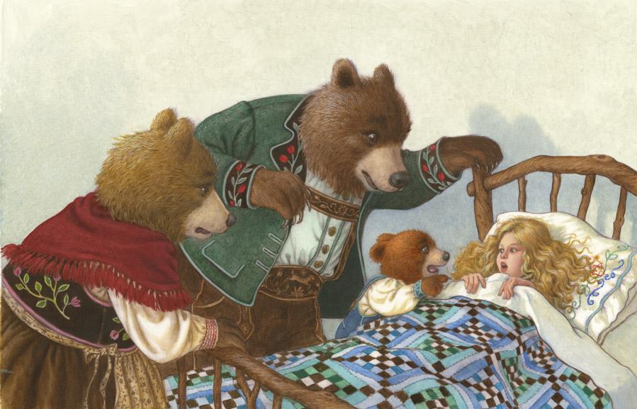 """""""Cachinhos Dourados e os Três Ursos"""": um conto sobre crescimento"""