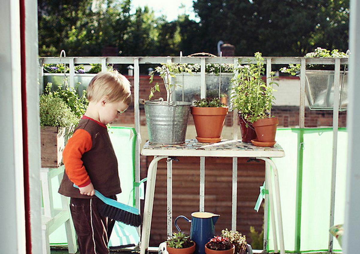 Por que apresentar as crianças à jardinagem?