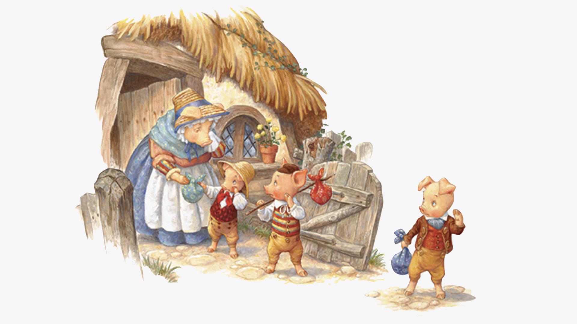 """""""Os Três Porquinhos"""": construindo e habitando a si mesmo"""
