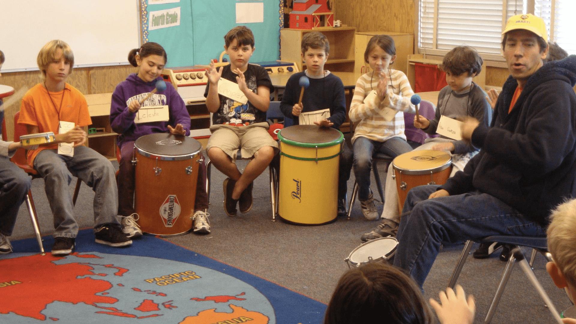 O que as pensam crianças sobre o contato com músicas de outras culturas?