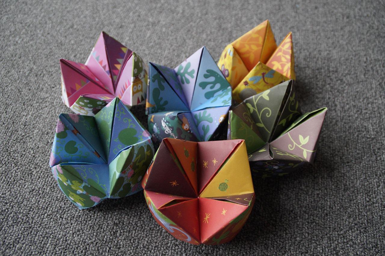 7 benefícios da arte do origami para crianças