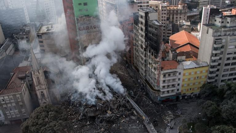 Como as crianças percebem o incêndio e desmoronamento do edifício no centro de São Paulo?