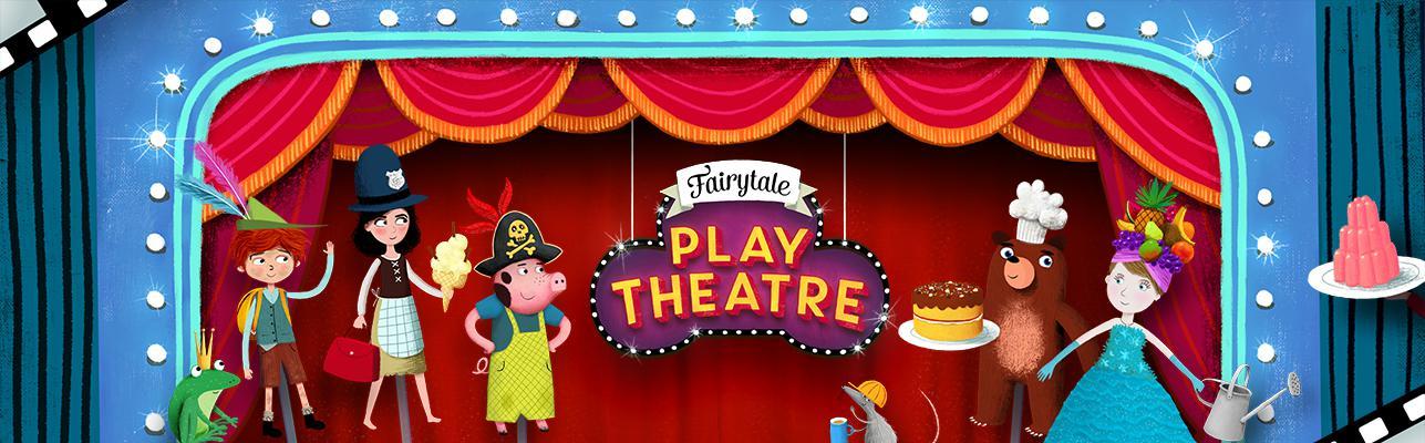 Um aplicativo para brincar com os contos clássicos