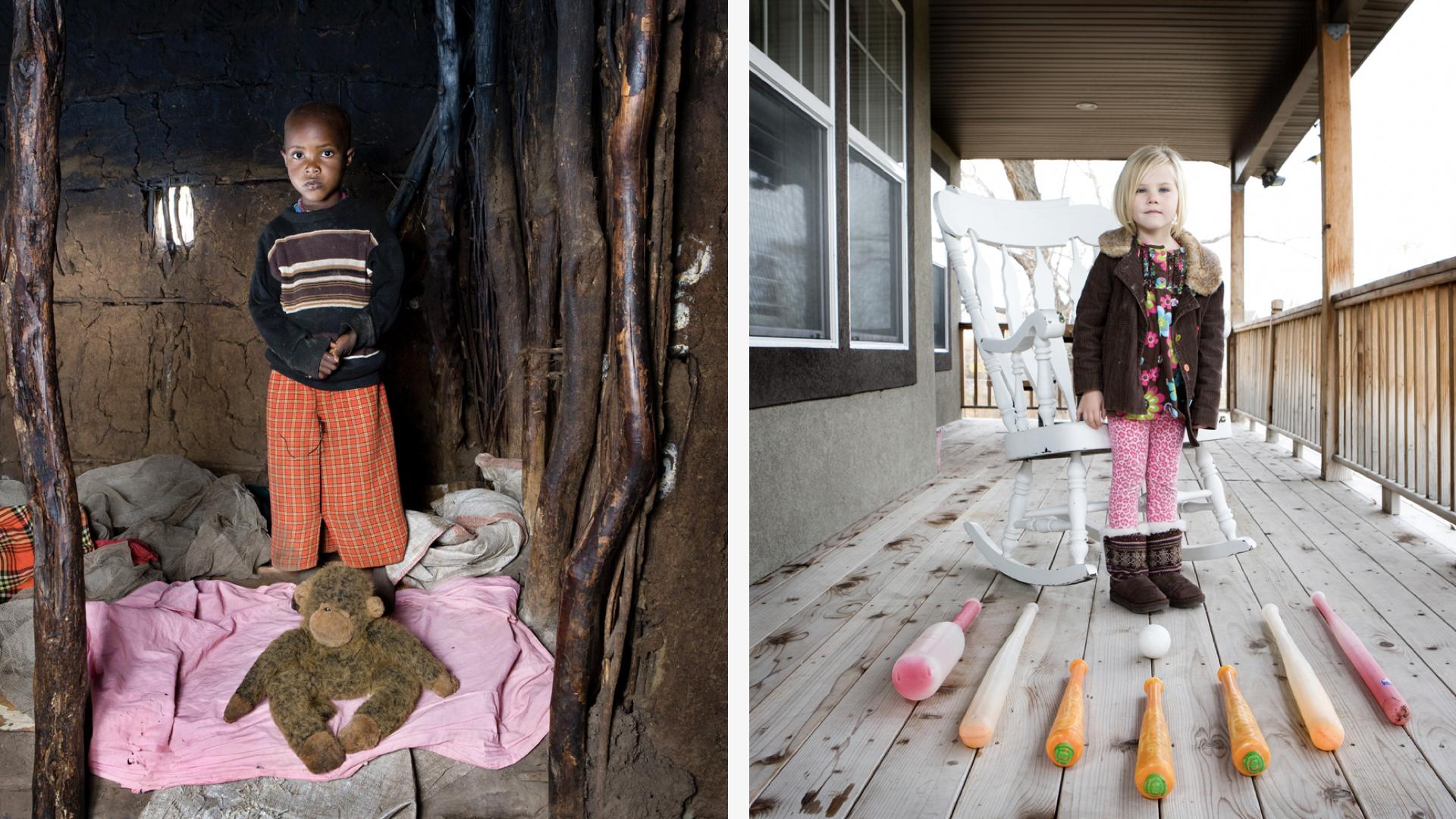 Fotógrafo viaja pelo mundo registrando crianças e seus brinquedos