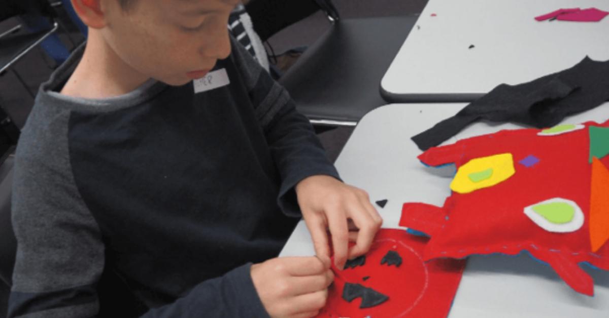 Por que ensinar as crianças a costurar?