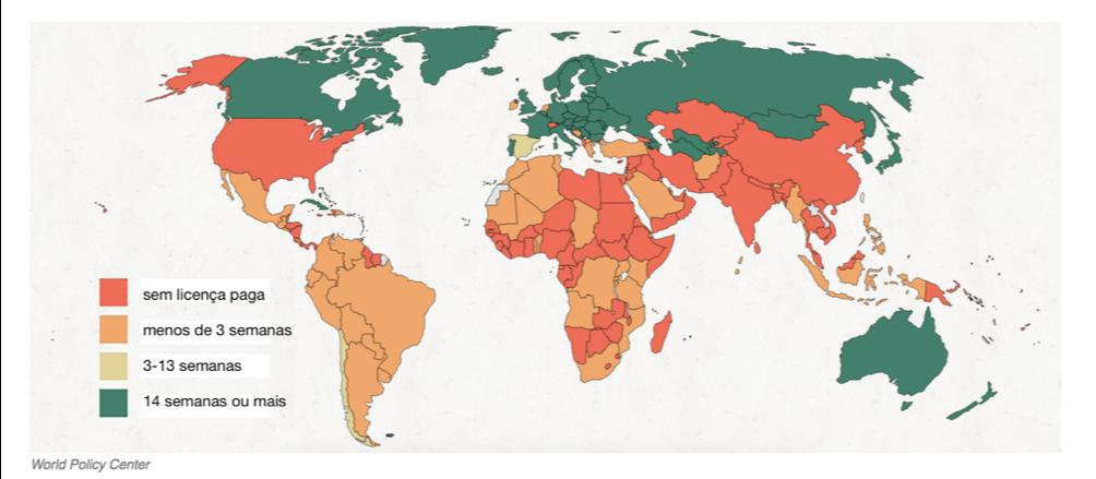 Mapa Licença Paternidade