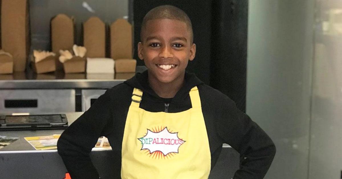 Chef em ascensão: Vegano, de 11 anos, fazendo molhos caribenhos